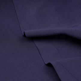 Tissu scuba effet Néoprène bleu patriote - pretty mercerie - mercerie en ligne