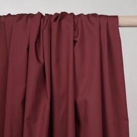Tissu popeline de coton barn red - pretty mercerie - mercerie en ligne