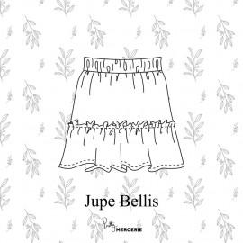 Jupe Bellis - patron de couture - pretty mercerie
