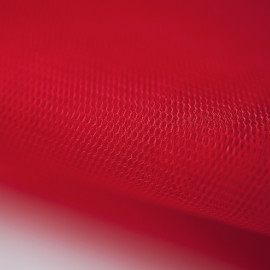 Tulle rouge extra Fin  x 10cm