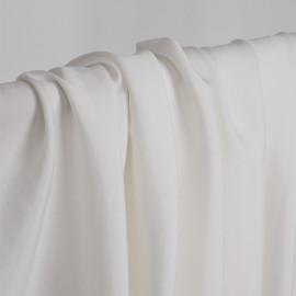 tissu cupro et viscose blanc - pretty mercerie - mercerie en ligne