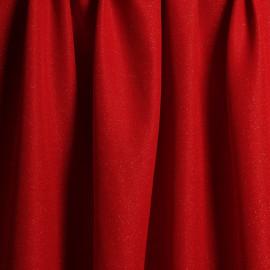 Tissu Lainage leger rouge coquelicot & or x 10cm pretty mercerie - mercerie en ligne
