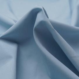 Tissu popeline de coton bleu pastel   Pretty Mercerie   mercerie en ligne