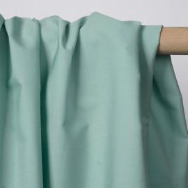 Tissu popeline de coton vert pastel | Pretty Mercerie | mercerie en ligne