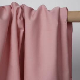 Tissu popeline de coton rose pastel | Pretty Mercerie | mercerie en ligne