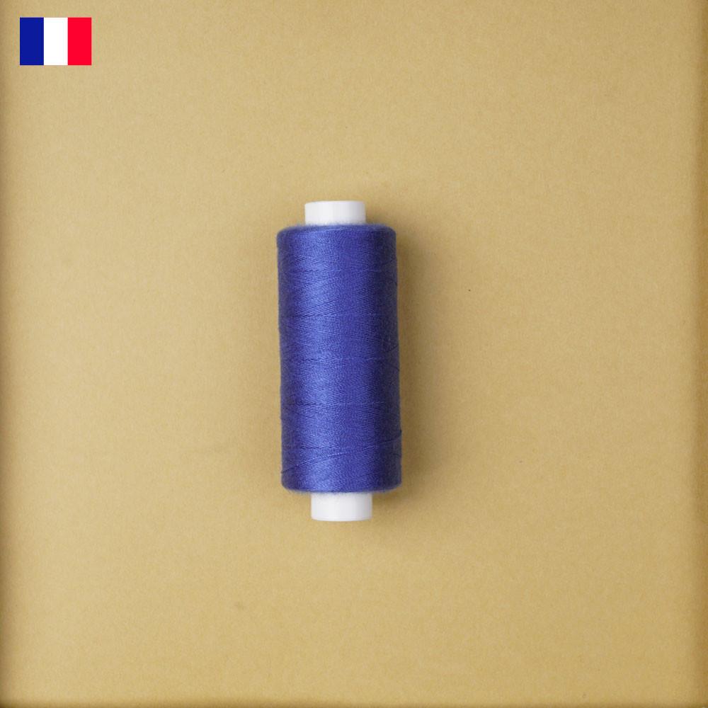 Fil à coudre olympian blue haute ténacité 500 m | fabrication française | Pretty Mercerie | Mercerie en ligne