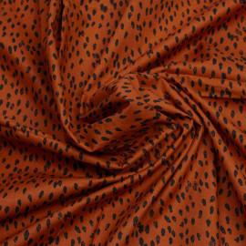 copy of TISSU COTON IMPRIMÉ ANCRE BLEU & BLANC X 10CM