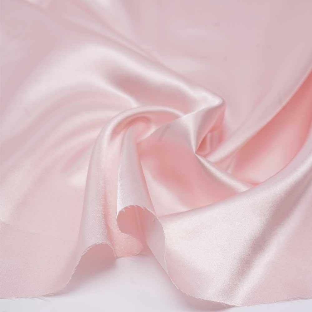 Doublure satin polyester rose pastel | pretty mercerie | mercerie en ligne