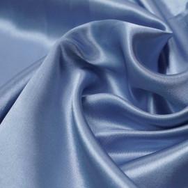 Tissu doublure satin polyester bleu ciel   pretty mercerie   mercerie en ligne