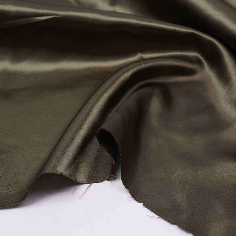 Tissu doublure satin polyester butternut | pretty mercerie | mercerie en ligne