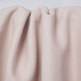 Tissu lainage rose blush | Pretty Mercerie | mercerie en ligne