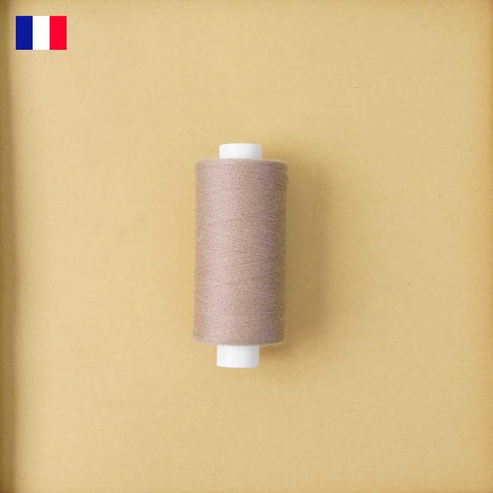 Fil à coudre praline ténacité 500 m   fabrication française   Pretty Mercerie   mercerie en ligne