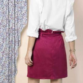 patron de couture Jupe Berthe | pretty mercerie | mercerie en ligne
