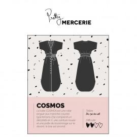 Robe Cosmos - patron de couture - pretty mercerie