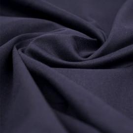 Tissu denim chino bleu foncé | pretty mercerie | mercerie en ligne