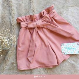 Tissu denim chino rose blush - pretty mercerie - mercerie en ligne