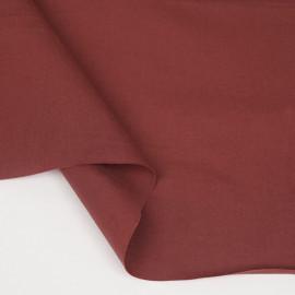 Tissu popeline de coton cinnabar | pretty mercerie | mercerie en ligne