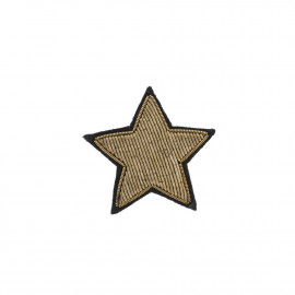 """Broches brodées """" Star """""""