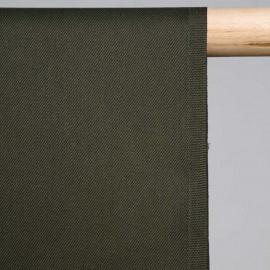 achat Tissu gabardine vert kaki  - pretty mercerie - mercerie en ligne