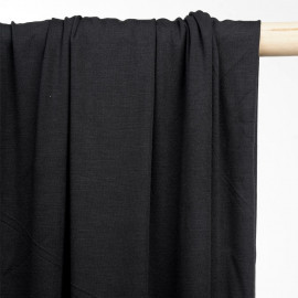 achat tissu jersey bambou noir - pretty mercerie - mercerie en ligne